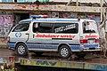 Toyota Hiace ambulance, Bangladesh. (30372135556).jpg