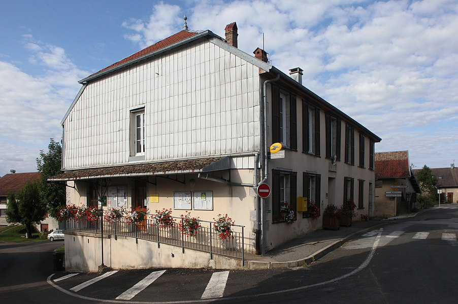 Mairie de Trépot (Doubs).