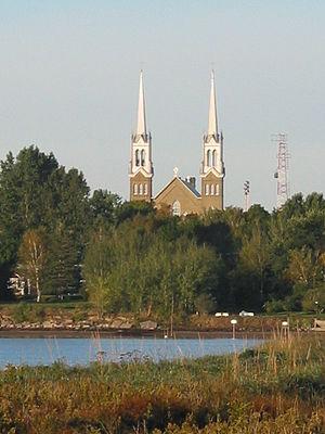 Tracadie–Sheila - Church of Saint-Jean-Baptiste and Saint-Joseph in Tracadie-Sheila