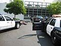 Traffic stop drill, presented by the LAPD Explorers at the LAPD West Valley Station.jpg