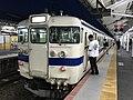 Train for Shindembaru Station at Shimonoseki Station.jpg