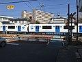 Train of Kashii Line near Kyushu Sangyo University 11.jpg