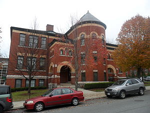 Clark University - The Traina Center for the Arts is located in the former Downing Street School.