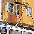 Tram in Sofia near Central mineral bath 2012 PD 034.jpg