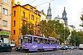 Tram in Sofia near Macedonia place 2012 PD 043.jpg