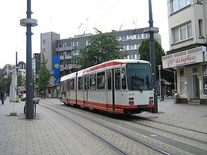 M6 der Bogestra auf der Linie 310 in Witten