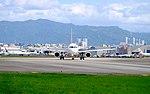 TransAsia Airways Airbus A320-233 B-22318 Departing from Taipei Songshan Airport 20151003b.jpg