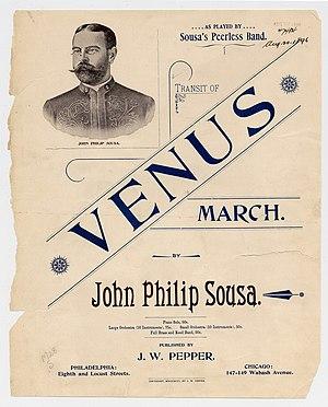"""""""Transit of Venus"""" march (sheet musi..."""