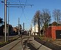 Travaux de la branche vers Vieux-Condé de la ligne B du tramway de Valenciennes en décembre 2013 (288).JPG