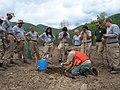 Tree planting at Pennington Gap project (8002919391).jpg