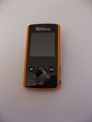A MP3 Player from the Company TrekStor. The na...