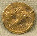 Tremisse di tiberio II, 578-582, da cividale.jpg