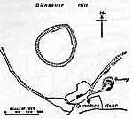 Trendle Ring hillfort and associated outwork