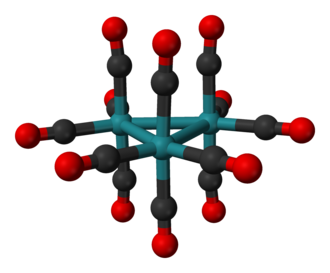Triruthenium dodecacarbonyl - Image: Triruthenium dodecacarbonyl from xtal 3D balls