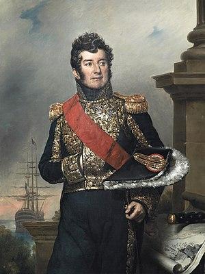 Laurent Jean François Truguet - Laurent Truguet in 1832; portrait by Jean-Baptiste Paulin Guérin
