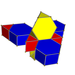 Truncated tetrahedral prism net.png