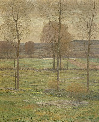 Carnegie Prize - Image: Tryon Early Spring in New England 1897 Smithsonian