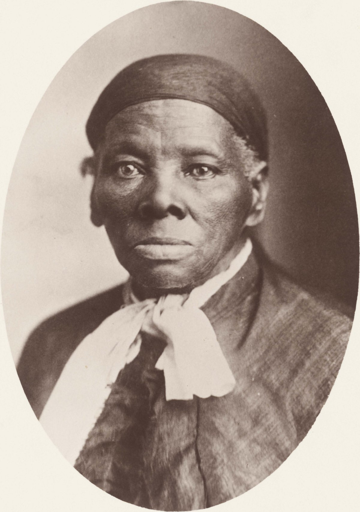 Close-up portrait photo of Tubman