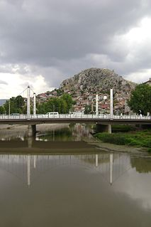 Turhal Place in Tokat, Turkey