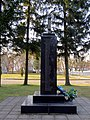 Turiysk Volynska-memorial sign to fighters for freedom of Ukraine-view-2.jpg
