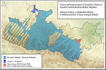 Turkic-speaking peoples of Karachay-Cherkess Republic and Kabardino-Balkar Republic.jpg