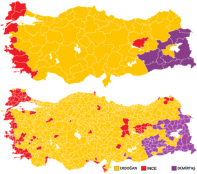 2018 Turkish general election 2018 Presidential and parliamentary elections in Turkey