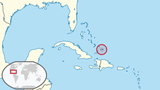 Turks and Caicos Islands in its region.svg