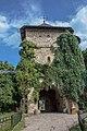 Turn clopotniță de intrare in Manastirea Moldovita 02.jpg