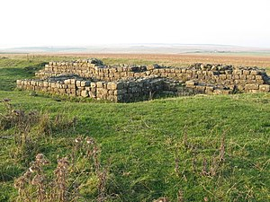 Milecastle 33 - The remains of Turret 33B