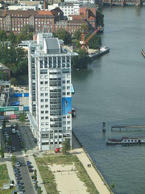 Treptow - Image: Twin Towers Berlin Treptow