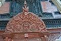 Tympanum of Kumari-ghar at Basantapur Durbar Square.jpg
