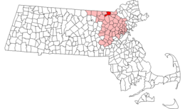 Tyngsborough – Mappa