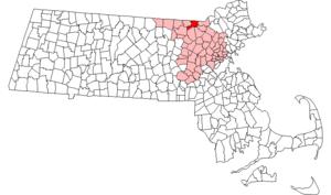 Tyngsborough, Massachusetts - Image: Tyngsborough ma highlight
