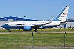 U.S. Air Force, 05-0730, Boeing C-40C (737-7DM) (17554860623).jpg