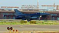 U.S. F-16 at Aeroport Marrakech Menara.jpg