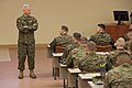 U.S. Marine Corps Gen. James F. Amos, the commandant of the Marine Corps, talks to Marines with Fox Company, The Basic School at Heywood Hall at Marine Corps Base Quantico, Va., March 4, 2013 130304-M-LU710-020.jpg