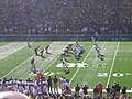 UMass vs. Michigan football 2012 07 (UMass on offense).jpg