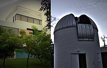 The Astronomical Observatory of the University of Puerto Rico at Humacao.