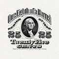 US-Stamp-Beer-1898-25 cents (1⁄8 barrel) (partial proof).jpg