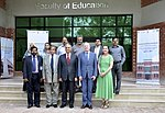 USAID Mission Director John Groarke Inaugurates Faculty of Education at the University of Punjab, Highlighting Education as a Key to Development and Human Rights (33839573705).jpg