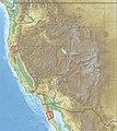 USA Region West relief Sierra San Pedro Martir location map.jpg
