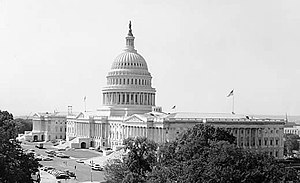 90th United States Congress - Image: US Capitol 1962