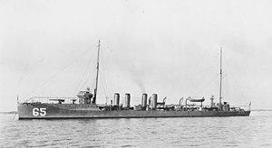 USS Davis (DD-65) - Image: USS Davis DD65