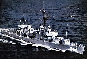 USS Epperson (DD-719) underway in 1970