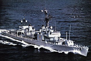 USS <i>Epperson</i> (DD-719) Gearing-class destroyer