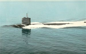 USS Flying Fish (SSN-673) at sea 1972.jpg