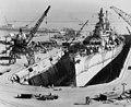 USS Iowa (BB-61) - первый из самых крупных и самых мощных линейных кораблей.
