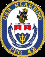 USS Klakring FFG-42 Crest.png
