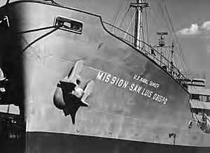 US Naval Tanker Mission San Luis Obispo