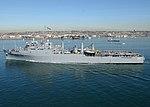ВМС США 030117-N-2069B-002 USS Anchorage (LSD 36) вылетает из залива Сан-Диего. Jpg